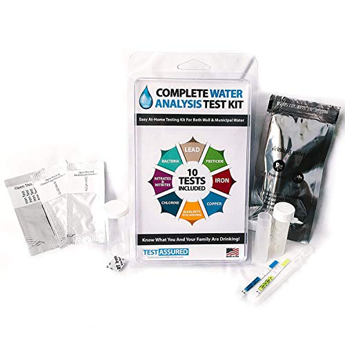 Drinking Water Test Kit - 10 Minute Testing For Lead Bacteria