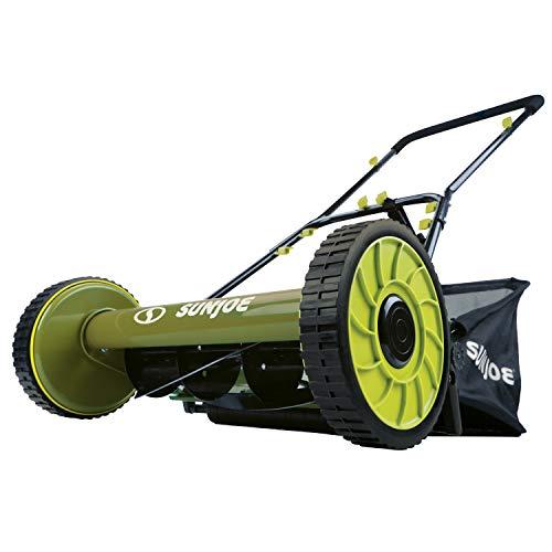 Snow Joe 16 inch Manual Reel Mower w/Grass Catcher Snow Joe MJ500M 16 inch Manual Reel Mower w/Grass Catcher.