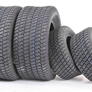 WANDA Set of 4 New Lawn Mower Turf Tires