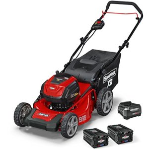 Snapper MAX Electric Cordless 19-Inch Lawnmower Kit