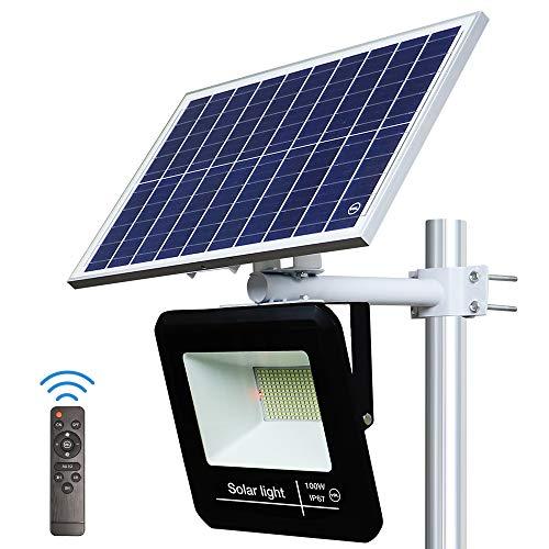 YQL 100W Outdoor LED Solar Street Security Flood Light Waterproof