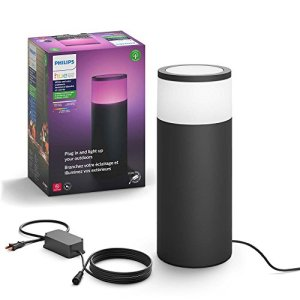 Philips Hue Calla White & Color Ambiance Outdoor Pathway Light Base Kit