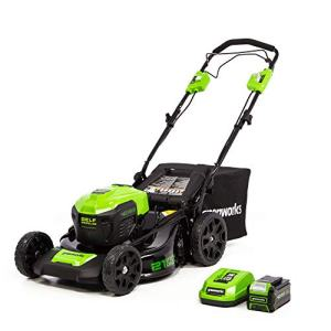 Greenworks 21-Inch 40V Cordless Brushless Self-Propelled Lawn Mower
