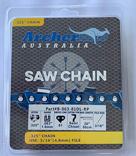 """Archer 20"""" Ripping Chainsaw Chain Replaces Stihl"""
