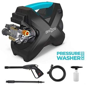 BRIZER X100 Compact Electric Pressure Washer 2200 PSI, 1.6 GPM Power Washer