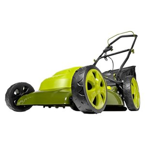 Sun Joe 20-Inch 13.5-Amp Electric Lawn Mower + Mulcher
