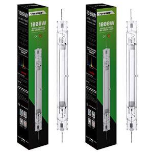 VIVOSUN 2-Pack 1000W Double Ended Metal Halide MH Grow Light Bulb Lamp