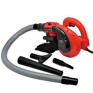 Toolman Corded Electric Compact Leaf Sweeper Vacuum Blower 6 Speed