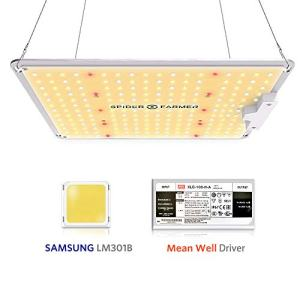 Spider Farmer SF-1000 LED Grow Light with Samsung Chips & Dimmable MeanWell