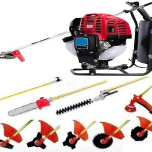 CHIKURA Backpack 10 in 1 Multi Garden Tool Brush Cutter Whipper Snipper Chain