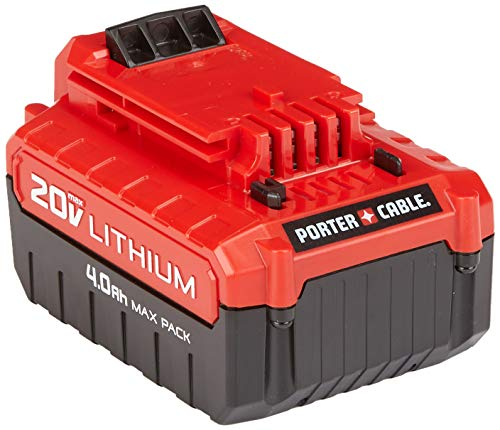 PORTER-CABLE 20V MAX Lithium Battery, 4.0-Ah, 2-Pack
