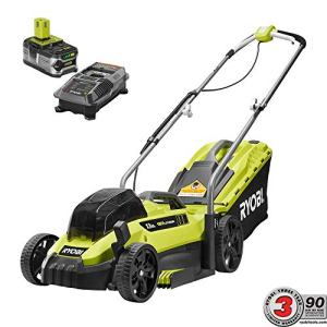 RYOBI 13 in. ONE+ 18-Volt Lithium-Ion Cordless Battery Walk Behind Push