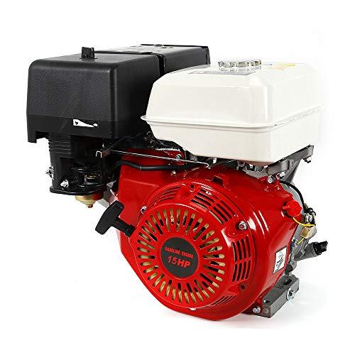 Gas Engine, 15 HP 4 Stroke Gasoline Motor Engine Recoil Start Go Kart Log Splitter