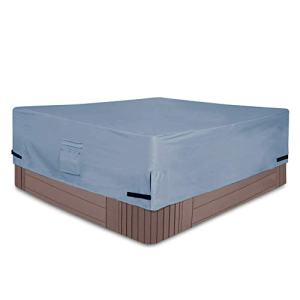 Yolaka Veranda Square Hot Tub Cover Cap with Air Vents 76x76 Waterproof