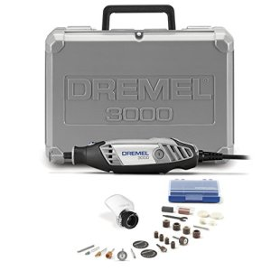 Dremel 3000-1/25 Variable Speed Rotary Tool Kit- 1 Attachment and 25 Accessories- Grinder, Mini Sander, Polisher, Router, and Engraver- Perfect for Routing, Metal Cutting, Wood Carving, and Polishing