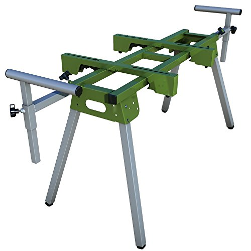 Bullet Tools Universal Folding Shear Stand and Work Station with Quick Attach Mounts and Material Support T's