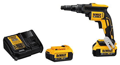 DEWALT 20V MAX XR Screw Gun with Adjustable Torque and Clutch, Brushless (DCF622M2)