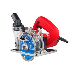 ETE ETMATE Masonry Saw Multifunctional 125MM Wood, Stone, Tile Slotting Cutting Machine with Dust Removal Function Marble Machine, Electric Circular Saw, Wood Working Chainsaw with 41mm Cutting Blade
