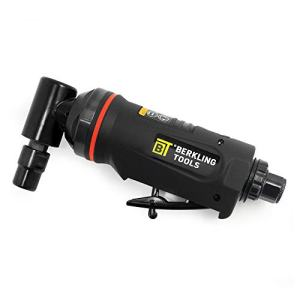 "Berkling Tools 1/4"" Air Die Grinder Professional Grade Heavy Duty with Variable Speed Control (Angle, Right Angle)"
