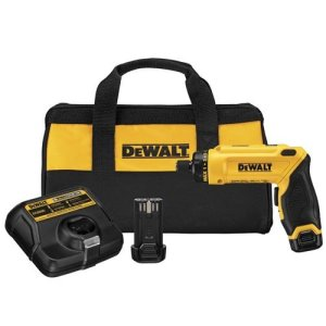 DEWALT 8V MAX Cordless Screwdriver Kit, Gyroscopic, 2 Batteries (DCF680N2)