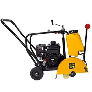 "Stark 14"" Walk Behind Floor Concrete Cut Off Saw Cement Masonry Briggs Stratton Engine 5.5HP, EPA Certificated"