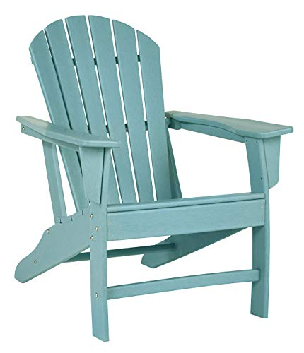 Signature Design by Ashley - Sundown Treasure Outdoor Adirondack Chair - Turquoise