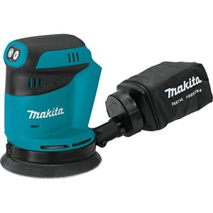 "Makita XOB01Z 18V LXT Lithium-Ion Cordless 5"""" Random Orbit Sander, Tool Only"