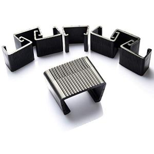Ponwec 8 PCS Outdoor Patio Furniture Clips for Patio Sectional Sofa, Wicker Chair Clips Garden Furniture Clips Connect The Sectional or Module Outdoor Couch Patio Furniture & Rattan Chair (Big