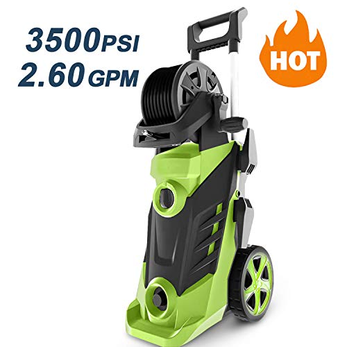 Homdox 3500 PSI 2.6 GPM Power Washer Electric Pressure Washer 1800W Electric Power Washer Cleaner