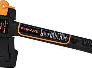 "Fiskars 375501-1001 Hatchet with Sheath, 14"", Black"