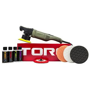 Chemical Guys BUF501X 10FX Random Orbital Polisher Kit (Polisher + 9 Items)