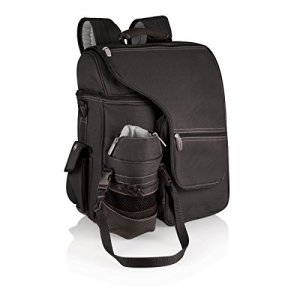 ONIVA - a Picnic Time Brand Turismo Insulated Backpack Cooler, Black