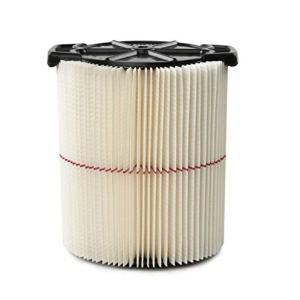 CRAFTSMAN CMXZVBE38754 Red Stripe General Purpose Wet Dry Vac Replacement Filter for 5 to 20 Gallon Shop Vacuums