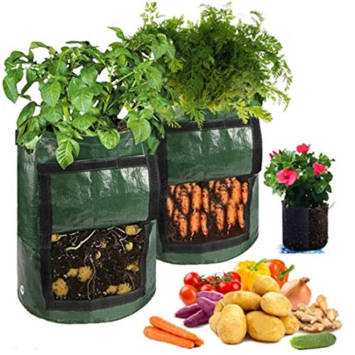 Shangjie Town Smart Plant Grow Bags for Potato/Plant Container/Flowers Pots/Garden Decoration with Handles