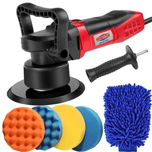 "Dobetter Car Buffer Polisher, 6"" Dual Action Orbital Polisher Machine for Car Waxer/Buffer With Detachable Side Handle-DBDAP180"