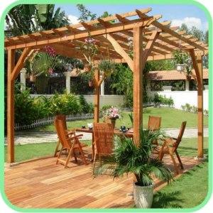 DIY Garden Pergola