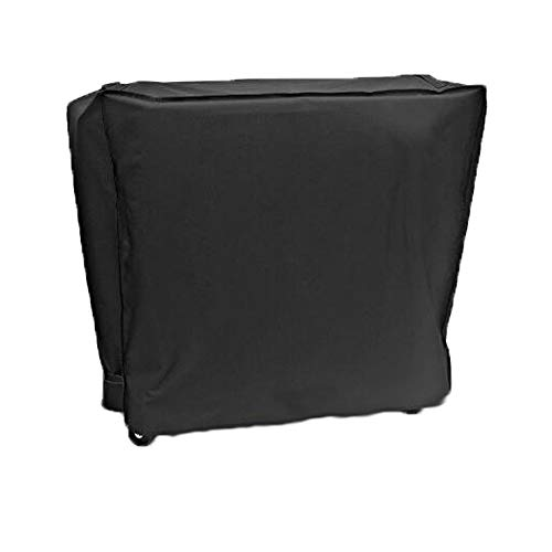"Comily Plus+ Universal 600D Oxford Heavy Duty Waterproof Cooler Covers Fits 80 QT Rolling Cooling Bins-36""x20""x35"""