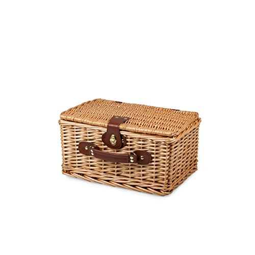 Picnic Time Catalina English Style Picnic Basket with Service for Two Guarantee: Backed by the Picnic Time Household of Manufacturers BUILT TO LAST Lifetime Pledge to restore or substitute if faulty for any purpose