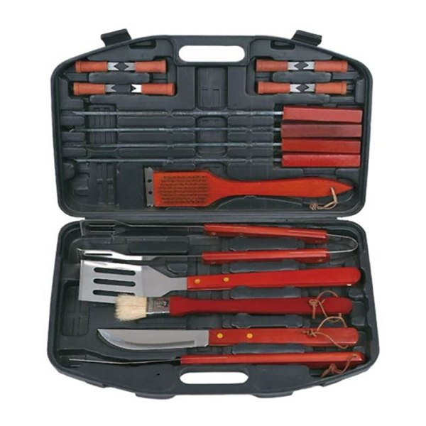 Barbecue Set in the Suitcase knife Meat Fork Paddle