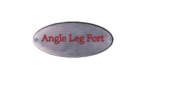 angle leg swing set, angle leg fort, wooden swing set, playset