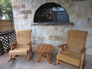 outdoor patio sitting area high back rockers, round coffee table fort worth outlet, fort worth, swing set store, playset store, patio furniture, trampolines, swing set store near me, playground store near me, swing sets, playsets, playgrounds, outdoor swings, outdoor furniture