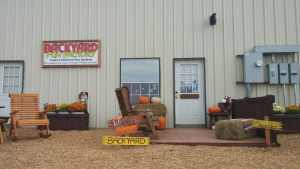 justin factory, justin store, backyard fun factory store, patio furniture, trampolines, backyard swing sets