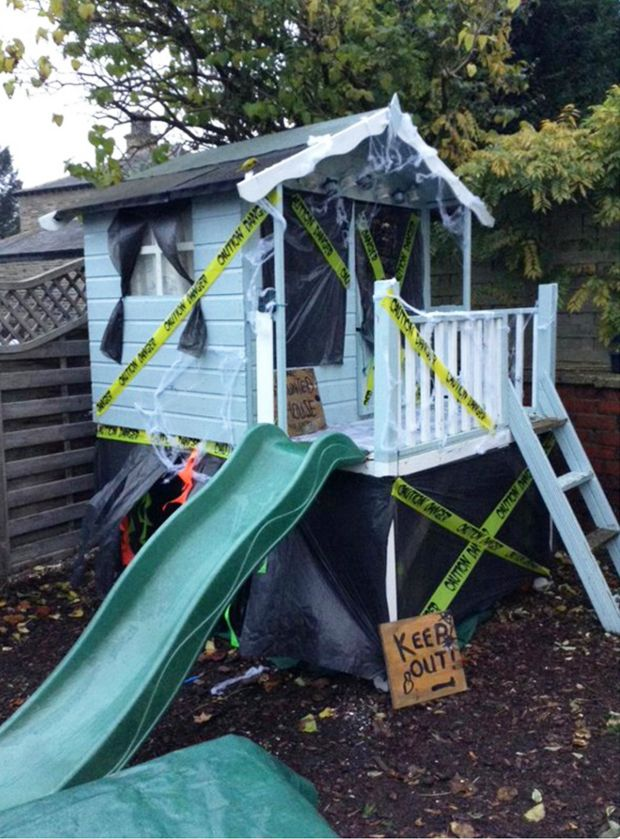 Make Your Own Haunted Playhouse
