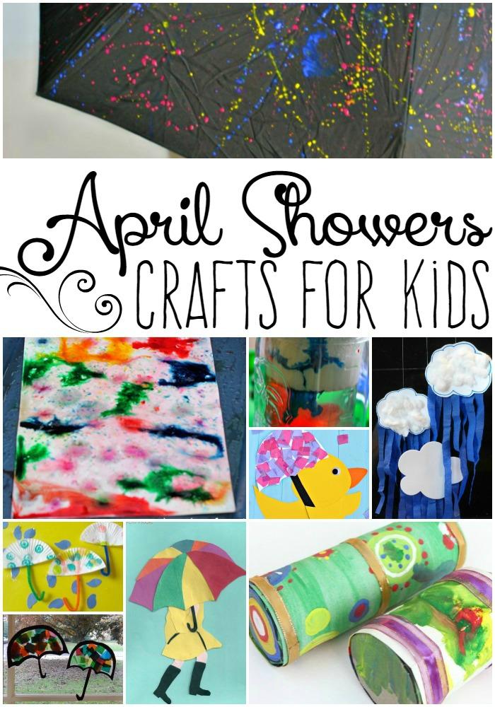 April Shower Craft for Kids