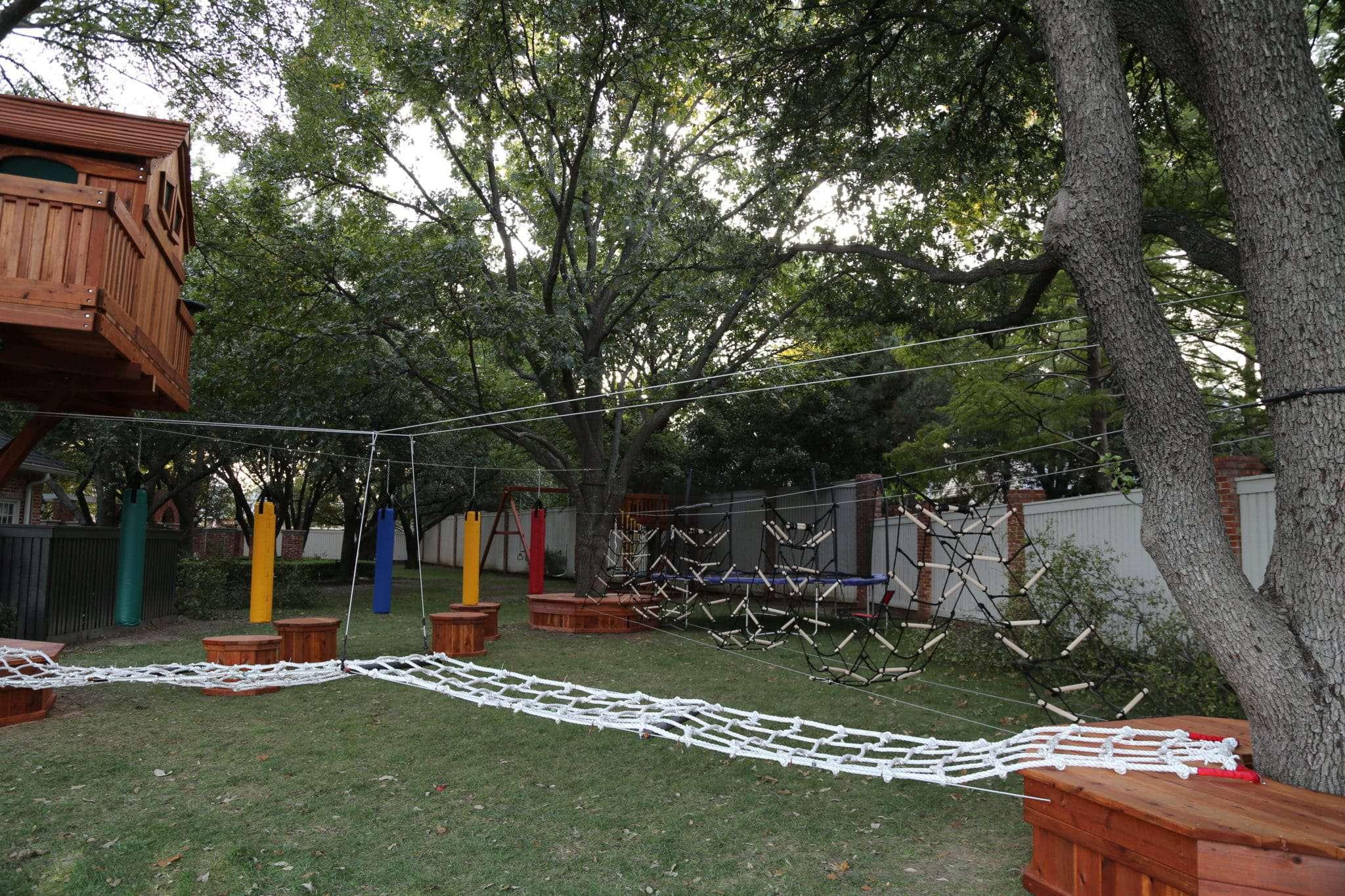 go play outside ninja warrior style backyard fun factory