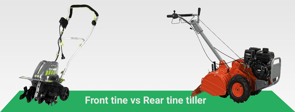 Front Tine vs. Rear Tine Tiller