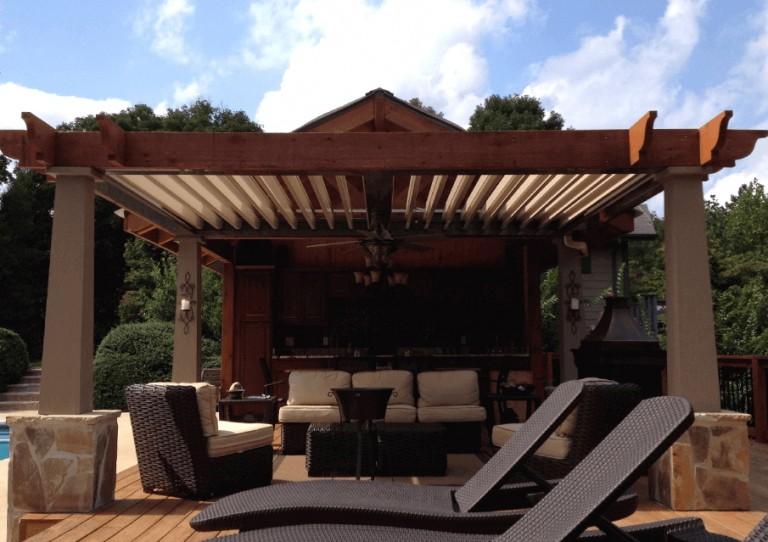 2016 Luxury Backyard Design Trends & 2015 Backyard of the ... on Arcadia Backyard Designs id=69244