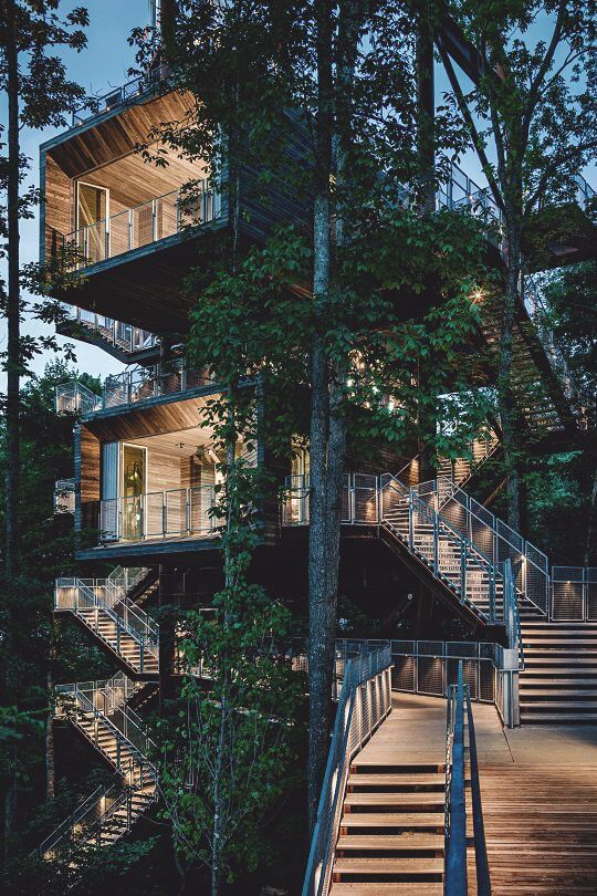 37 Luxury Tree Houses You'd Like to Move Into on Modern:szae7Exnfpq= Amazing Houses  id=54441