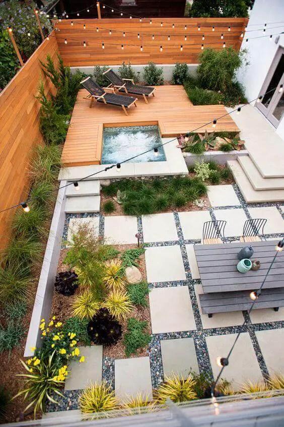 27 Cozy Small Backyard Deck Designs on Small Yard Deck id=19760