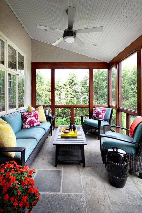 36 Simple Back Porch Ideas too Beautiful to Be Real on Enclosed Back Deck Ideas id=38253